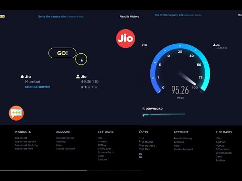 Jio Fiber Speed Test | Jio Broadband Speed Test Real and Exclusive