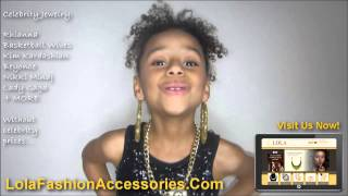 Celebrity Inspired Jewelry, Hip Hop Jewelry, Basketball Wives Jewelry Thumbnail