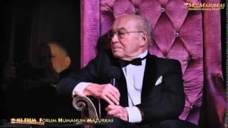 XI Forum Humanum Mazurkas-dyskusja prezesa grupy Mazurkas Andrzeja Bartkowskiego z Markiem Sewenem