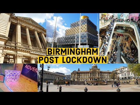 Birmingham As Lockdown Eases In England Today | Birmingham UK | Non-Essential Shops Reopen In UK |