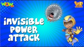 Invisible Power Attack - Vir : The Robot Boy - Kid's animation cartoon series