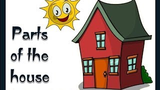 Parts of the House -English Language(The first picture free cartoon clip art is brought to you courtesy of Vladimir Zuñiga of Foca.tk., 2012-01-20T20:19:48.000Z)