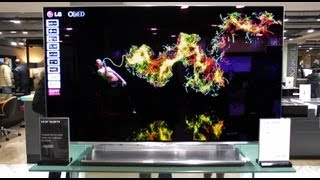 LG 55EM970V 55-Inch OLED TV Hands On At Harrods