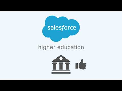 Salesforce for Higher Education Solution