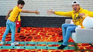Jason Saves Kittens from Floor is Lava