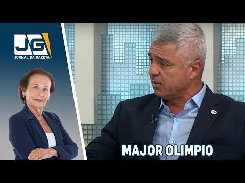 Major Olimpio, deputado federal PSL/SP, fala sobre as eleições