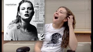 Reputation - Taylor Swift Album Reaction by a Swiftie