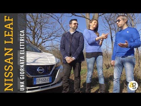 Una giornata ELETTRICA! Con Nissan LEAF, TESSA GELISIO, LUCA TALOTTA e ME!