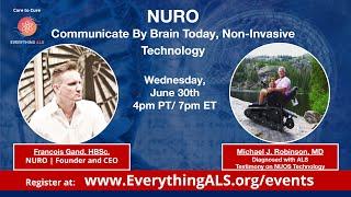 NURO | Communicate by Brain Today, Non-Invasive Technology