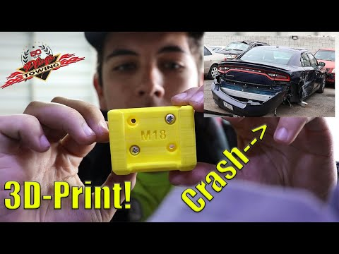 Wrecked Cars And 3-D Printers | VLOG 015