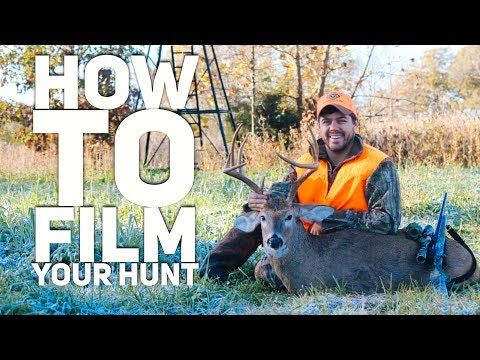 🔴LIVE  How To Film Your Deer Hunt