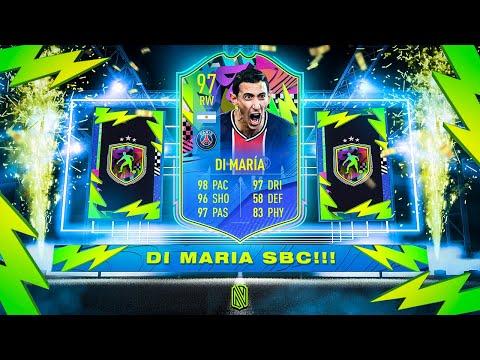 INSANE 97 SUMMER STARS DI MARIA SBC! - FIFA 21 Ultimate Team