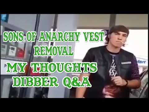 Guy Made To Remove His Sons of Anarchy Vest - Q&A MY THOUGHTS