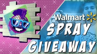 Fortnite Walmart SPRAY GIVEAWAY PART 1