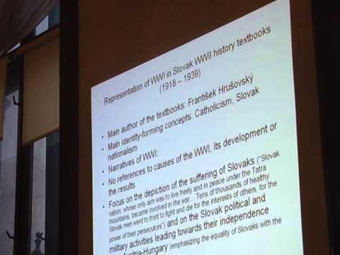 Slávka Otcenásová: Interpretations of WWI in Czechoslovak and Slovak School History Textbooks