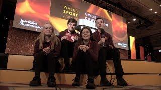 Ffeil: Personoliaeth Chwaraeon y Flwyddyn Cymru 2017