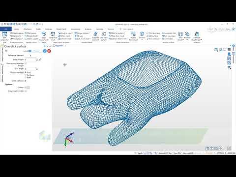 REcreate – One-Click Surface | DESIGNER 2022.0