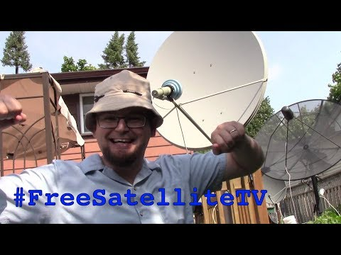 C Band 4ft Satellite Dish Antenna - SETUP #FreeSatelliteTV #FTA #CBand