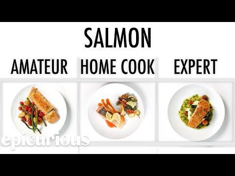 4 Levels of Salmon: Amateur to Food Scientist | Epicurious