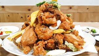 45년 전통! 치킨을 산처럼 쌓는 산더미 치킨, 청량리…