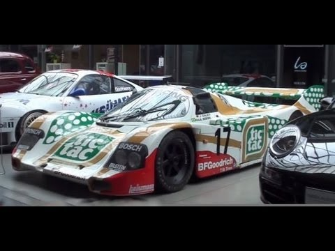 "Amazing ""Classic Remise"" in Berlin - unique center for historic cars - Porsche 962 Lancia Stratos"