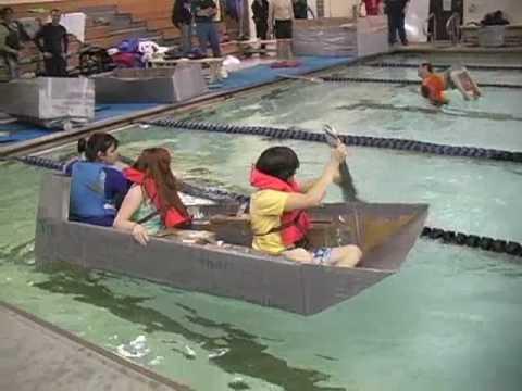 Angleton Cardboard Boat Race