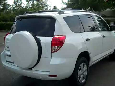 08 Toyota Rav4 4 Cylinder Used Car For Sale Gainesville
