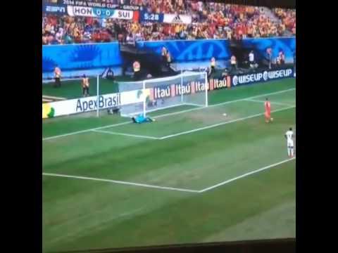 XHERDAN SHAQIRI AMAZING GOAL HONDURAS VS SWITZERLAND WORLD CUP 2014