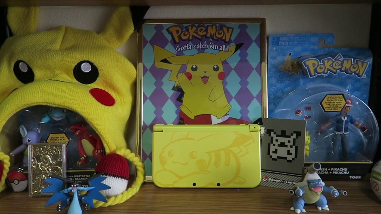New nintendo 3ds xl pikachu yellow edition youtube.