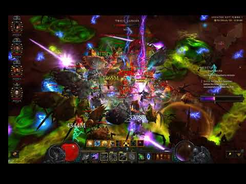 Diablo 3] Era 9 2 6 1 GR 139 Wizard Star Pact 4 man rank 22