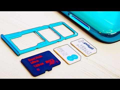 How To Manage Dual Sim Cards & SD Card On Samsung Galaxy A51?