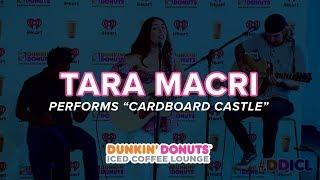 Tara Macri Performs 'Cardboard Castle' Live | DDICL