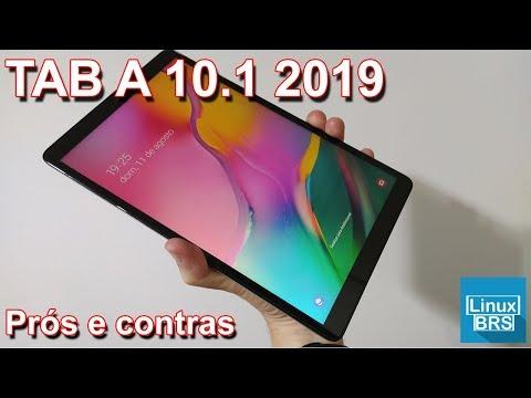 🔘 Samsung Galaxy Tab A 10.1 (2019) - Prós e contras