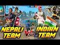NEPALI TEAM VS INDIAN TEAM    Garena Free Fire Nepal - NPG GAMER