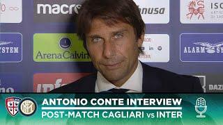 CAGLIARI 1-2 INTER | ANTONIO CONTE INTERVIEW: