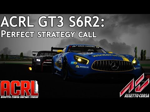 ACRL GT3 S6R2: PERFECT Strategy Call (GT-R GT3 @ Misano WC)