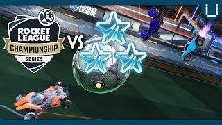 1 RLCS Pro vs 3 Platinums | ft. Flyquest AyyJayy