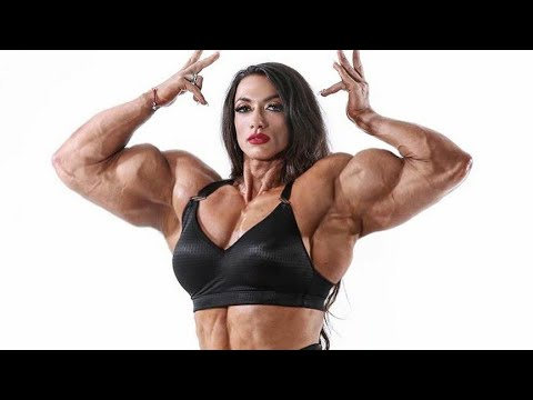 FEMALE BODYBUILDING,- Anne, IFBB PRO, FITNESS MODEL, GYM WORKOUT, PHYSIQUE ATHLETES,
