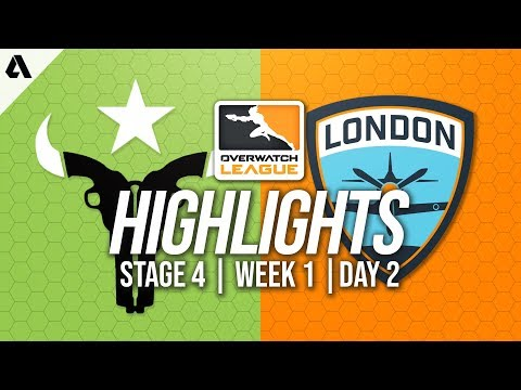 Houston Outlaws vs London Spitfire | Overwatch League Highlights OWL Stage 4 Week 1 Day 2