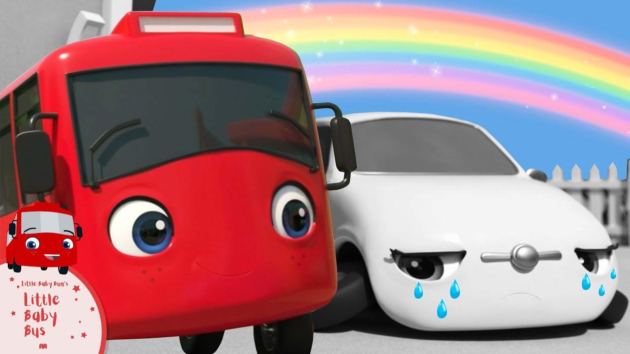 Buster en el mundo de colores | Nanas para bebés | Little Baby Bus Español - Little Baby Bum