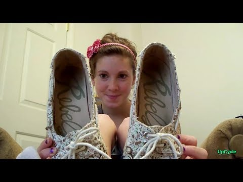 Upcycle: Dawn's Rebel ballet flat (retired)