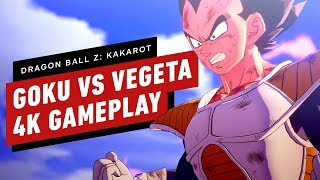 Dragon Ball Z: Kakarot - Goku Vs Vegeta Gameplay 4K60