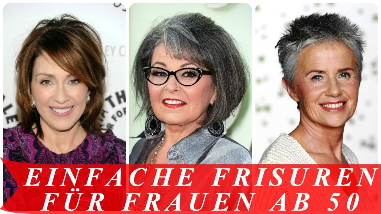 Frisuren fur frauen ab 50 lang