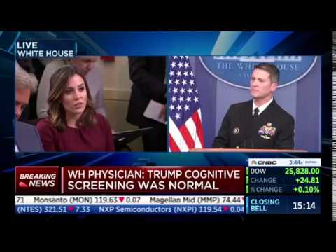 MSNBC Reporter Asks Dr. Ronny Jackson About Trump's 'Mental Fitness'