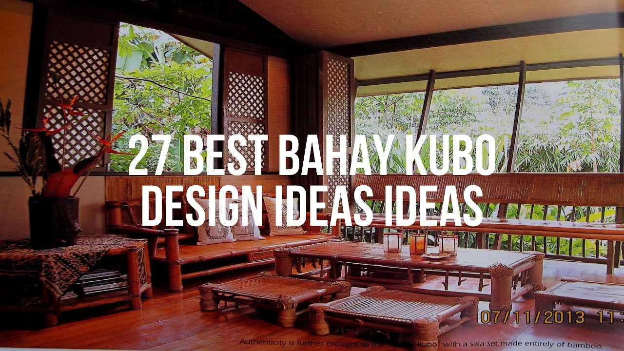 27 Best Bahay Kubo Design Ideas Ideas Youtube