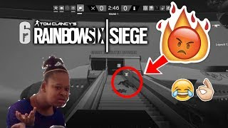 Toxic player feels salty on Rainbowsix Siege!!!!! Funny Moments