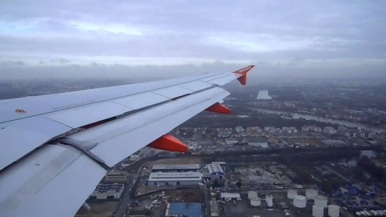 Atterrissage paris orly sud easyjet 2011 youtube - Comptoir easyjet orly sud ...
