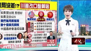 """十點上新聞》川普手握反送中籌碼 """"一紙法案""""擊潰習近平!?"""