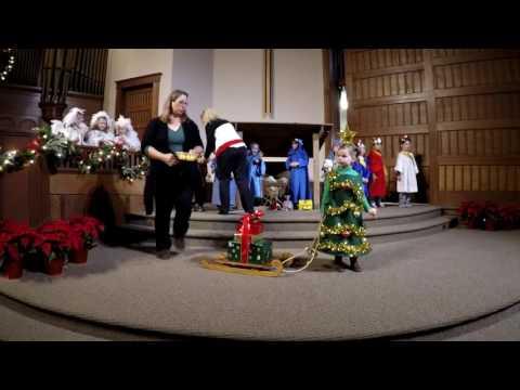 Mayflower Preschool Christmas Program 2016