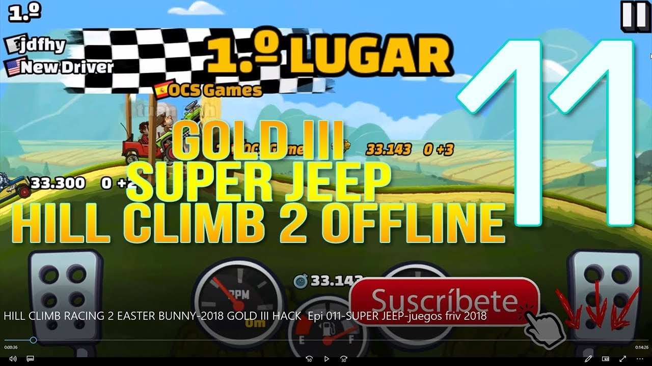 Hill Climb 2 Offline 2018 Gold Iii 2018 Epi 011 Super Jeep